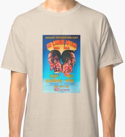 Larry Holmes vs Tim Whiterspoon Camiseta clásica