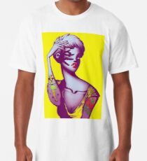 Tattoo Girl Long T-Shirt