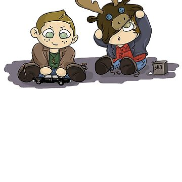 Little Winchesters by TheTrickyOwl