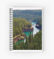 Miles Canyon, Canada Spiral Notebook