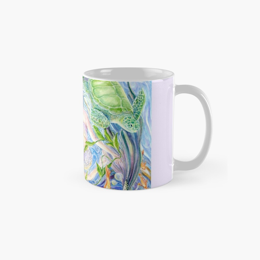 Yin Yang Meerjungfrauen Tasse