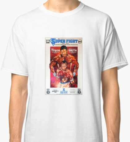 "Mike Tyson vs. ""Bonecrusher"" Smith Camiseta clásica"