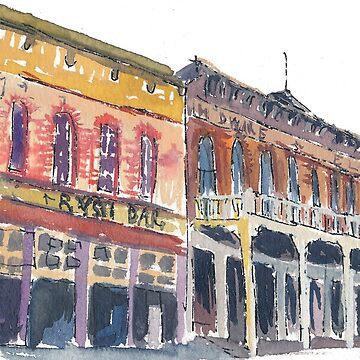 Virginia City Main Street Colorado by artshop77