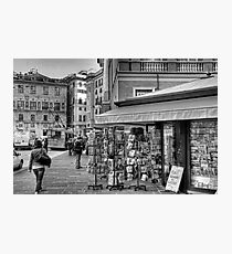 Alley Genoa 3 Photographic Print