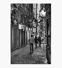 Alley Genoa 4 Photographic Print
