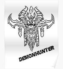 Demonhunter Crest Poster