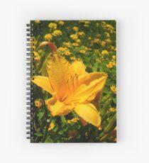 Playful Lilly Spiral Notebook