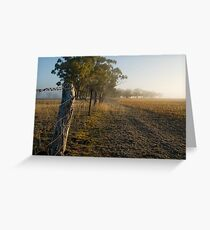 Dawn in the Mallee 4 Greeting Card