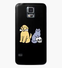 Good Dog Bad Cat Case/Skin for Samsung Galaxy