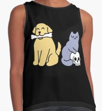 Good Dog Bad Cat Sleeveless Top