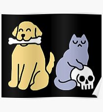 Good Dog Bad Cat Poster