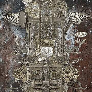 Steampunk Space Transport by felissimha