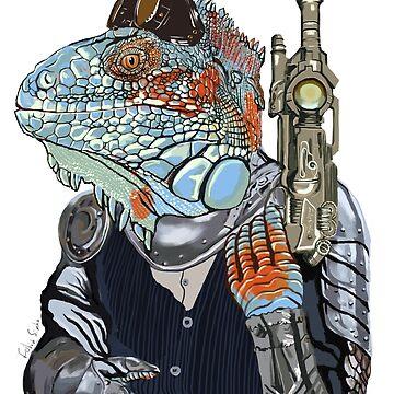Steam Dragon Sheriff by felissimha