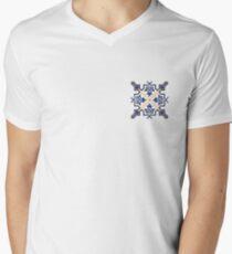 Portuguese Tile Pattern Artwork, Azulejo Portugues, Azulejos V-Neck T-Shirt