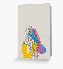 Primary Self Portrait Greeting Card