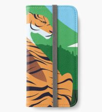 Tropical tiger iPhone Wallet/Case/Skin