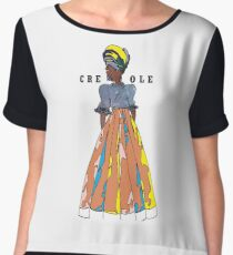 Creole woman Chiffon Top