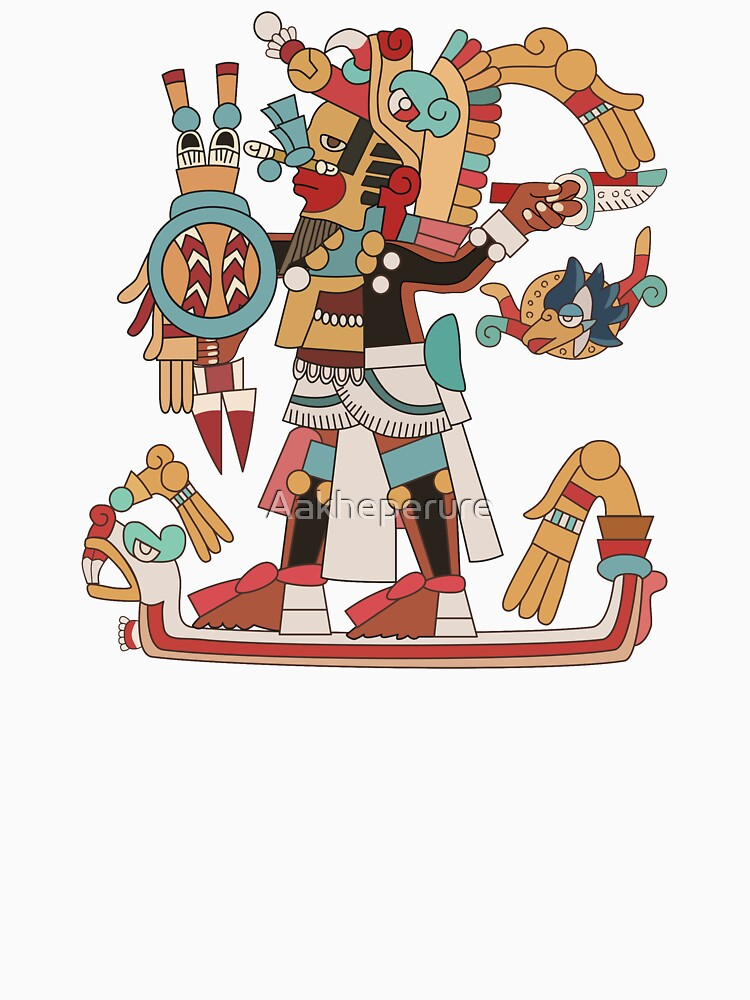 Aztec Warrior [Vector] by Aakheperure