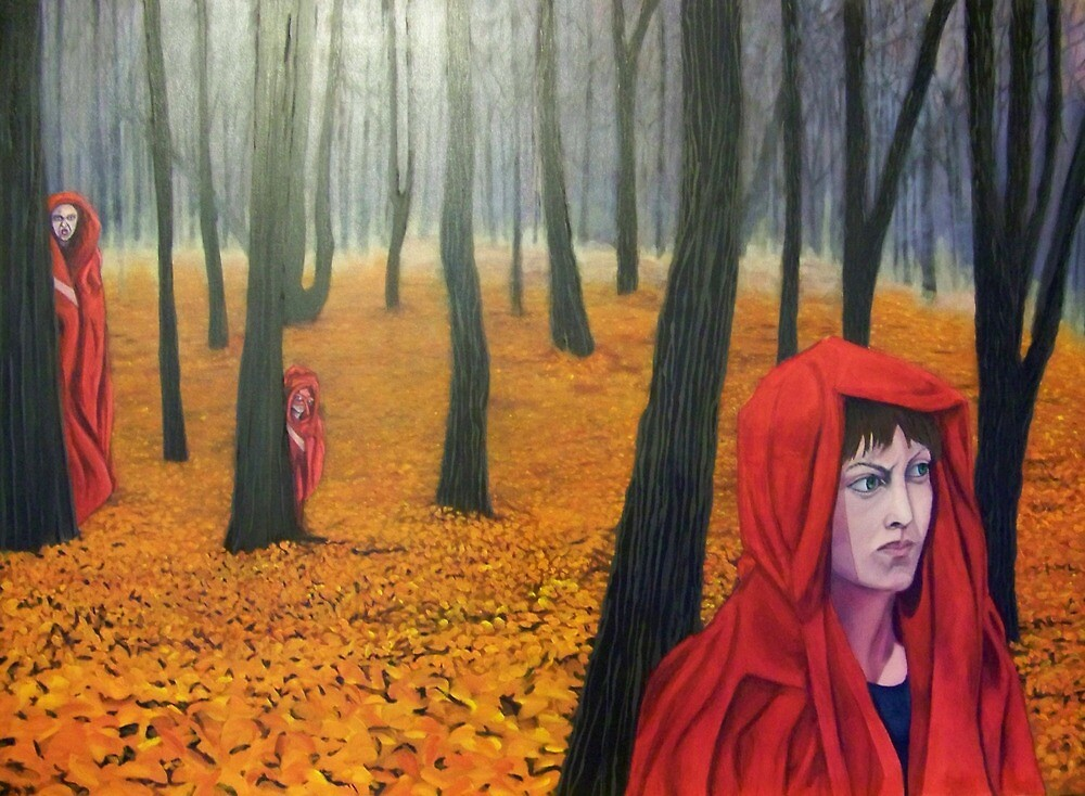 what follows ridinghood by justonegringo