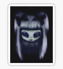Purple Doll Sticker