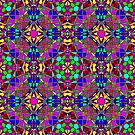 Psychedelic Stained Glass by InfiniteWonders