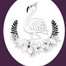 Just add Colour - Tropical Flamingo by FunkiFish