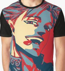 Ban Greed Seven deadly Sins Hope Graphic T-Shirt