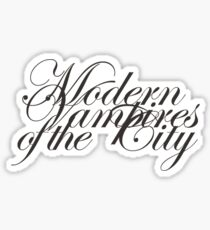 Modern Vampires of the City Sticker
