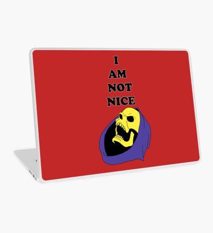 I AM NOT NICE Laptop Skin