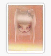 Grunge Doll Sticker