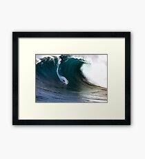 ' Jaws ' Framed Print