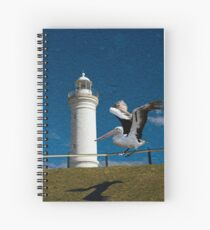 Lighthouse Landing Spiral Notebook
