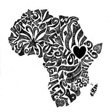 Africa mission trip design by BionicBatman