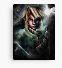 Legend of Zelda Link is One Epic Hylian Canvas Print