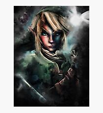 Legend of Zelda Link is One Epic Hylian Photographic Print