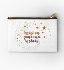 insist on your cup of stars Studio Pouch