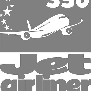 Jet 350 Airliner  by rustyredbubble