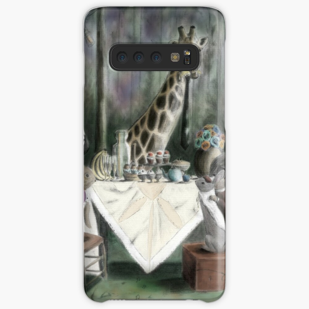 'Animal High Tea' Case & Skin for Samsung Galaxy