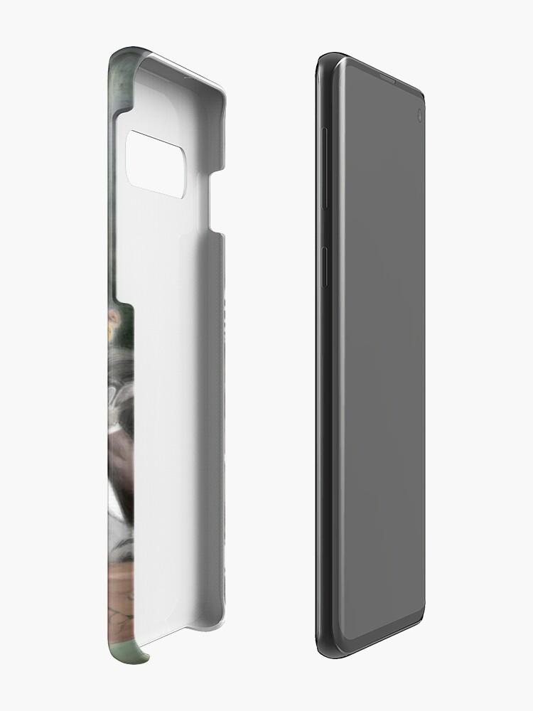 Alternate view of 'Animal High Tea' Case & Skin for Samsung Galaxy