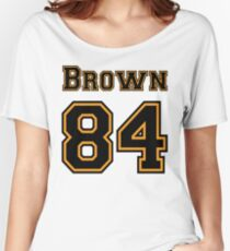 pittsburgh steelers antonio brown Women s Relaxed Fit T-Shirt 7787820912c