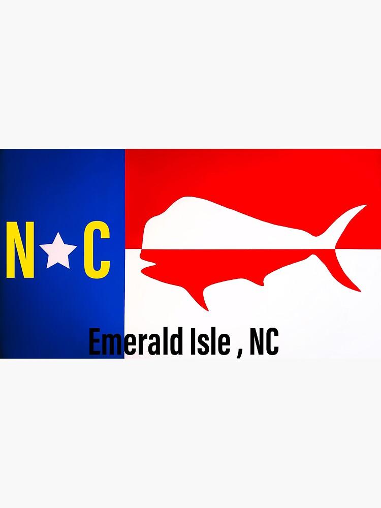 Emerald Isle NC sticker  by barryknauff