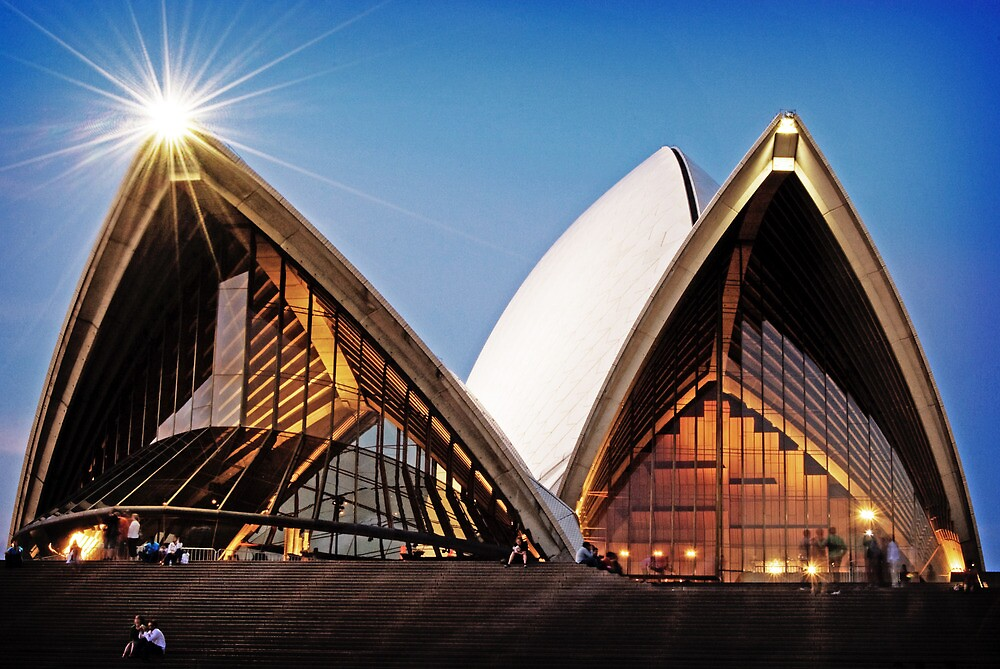 Sydney Opera House by Nathan T