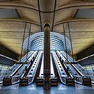 Canary Wharf by John Velocci