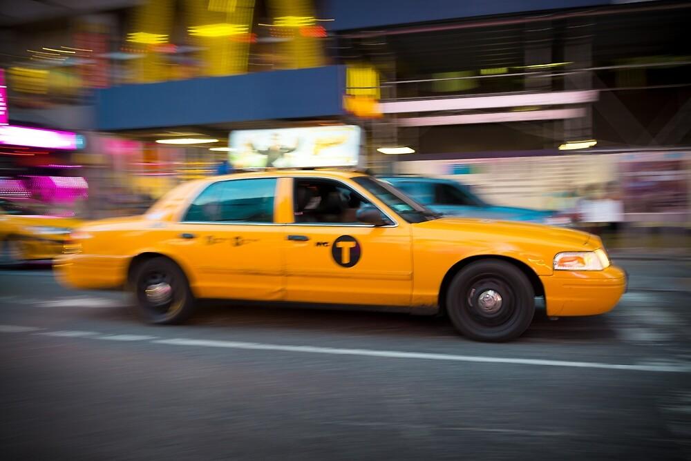 New York Taxi by Mark Eden