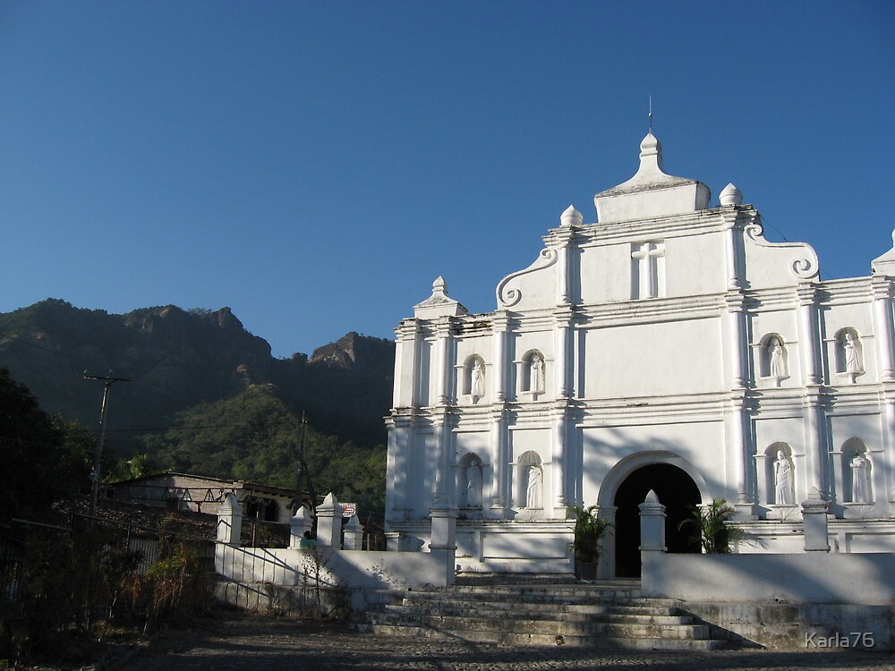 Iglesia de Panchimalco by Karla76