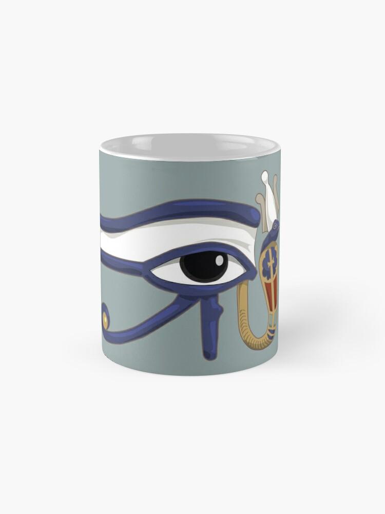 Alternative Ansicht von Das Auge des Ra: Wedjet Oberägypten Tassen