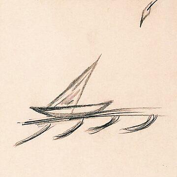JFK's Sketch: Houston's Rice Hotel  by michaelroman