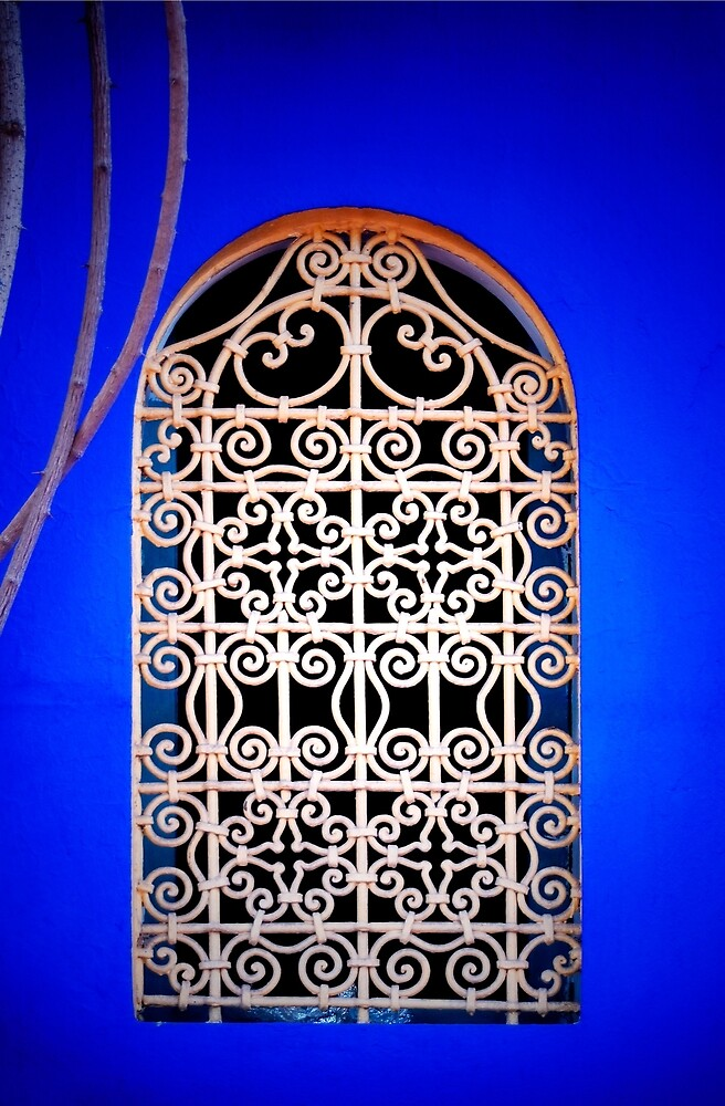 Moroccan Window by Mark Eden