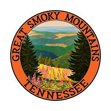Great Smoky Mountains Tennessee by MyHandmadeSigns