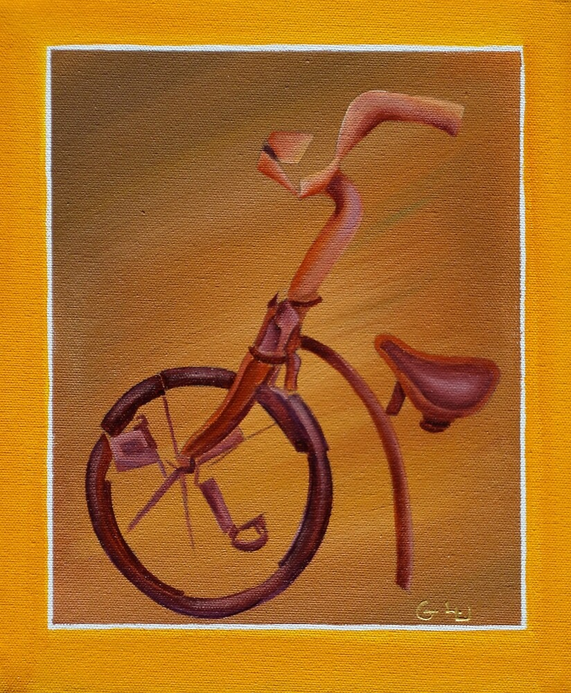 Bicycle by Giselle Luske